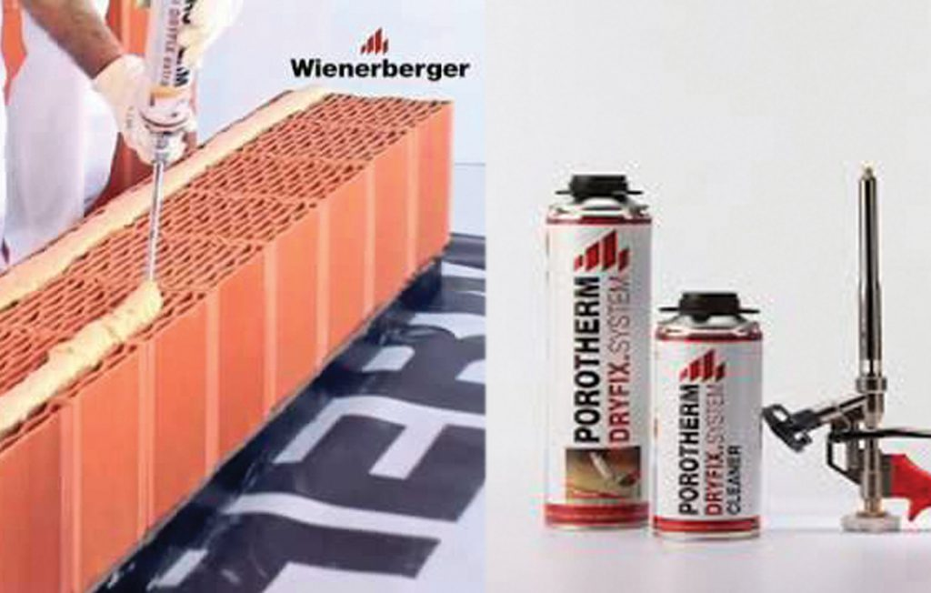 Wienerberger India Enables Significant Savings in Water Consumption at Construction Sites with its Novel Offering Porotherm Dryfix. System